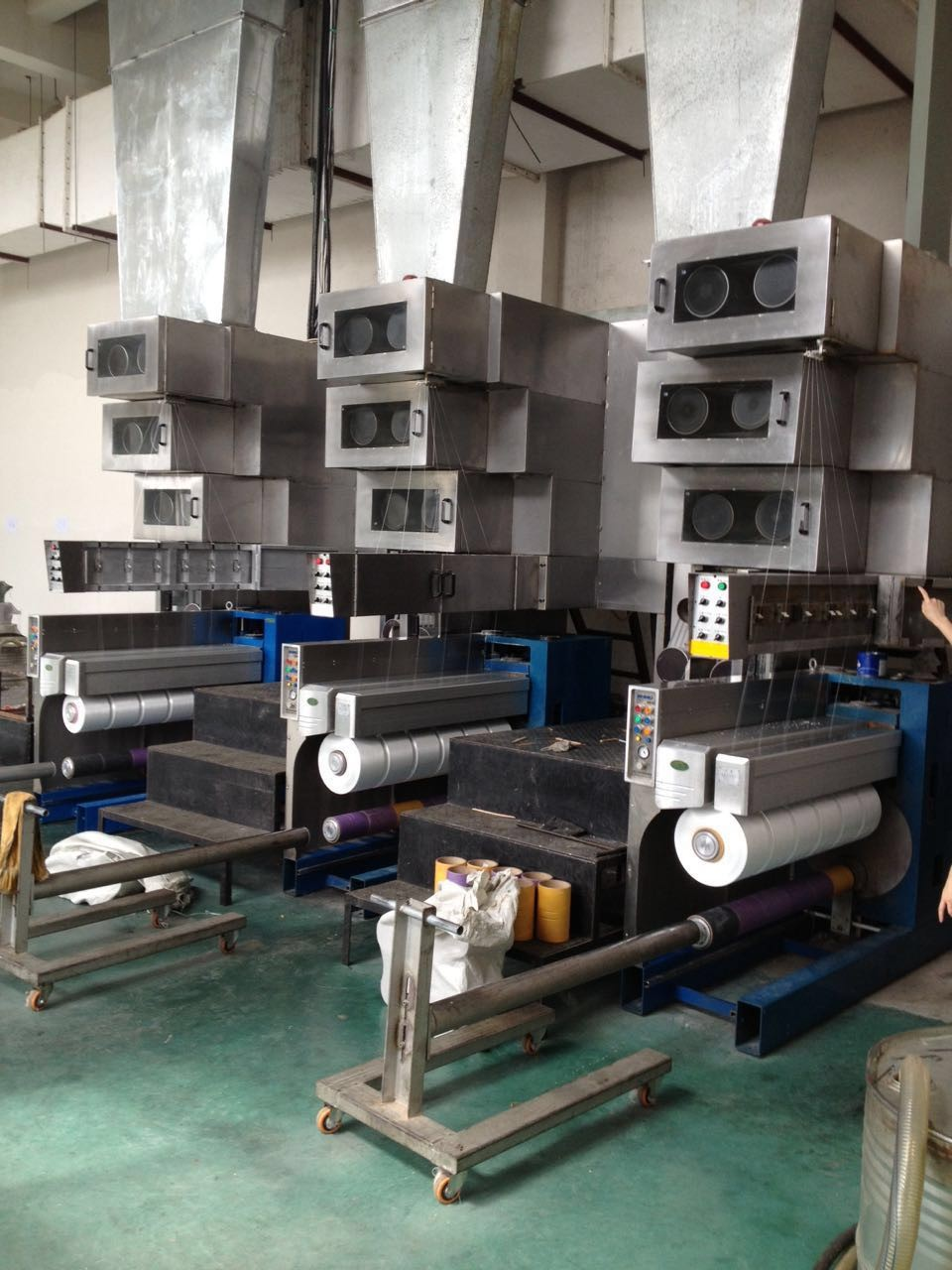 Polypropylene high strength FDY machinery